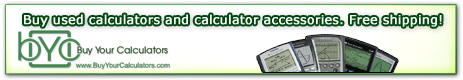 Buy Used Calculators at Buy Your Calculators .com
